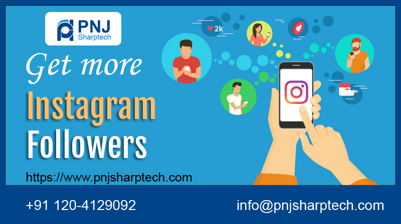 Instagram follower PNJ Sharptech