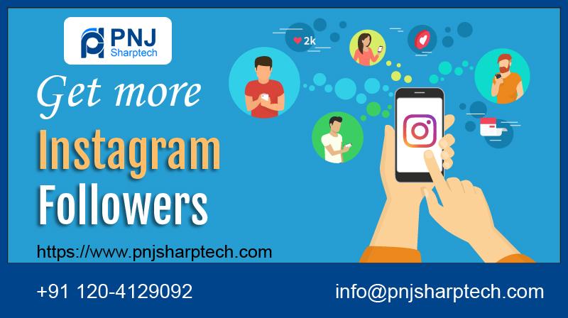 Instagram follower PNJ Sharptech