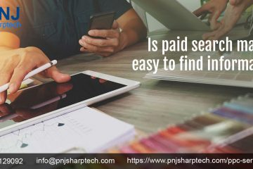 Is paid search make easy to find information