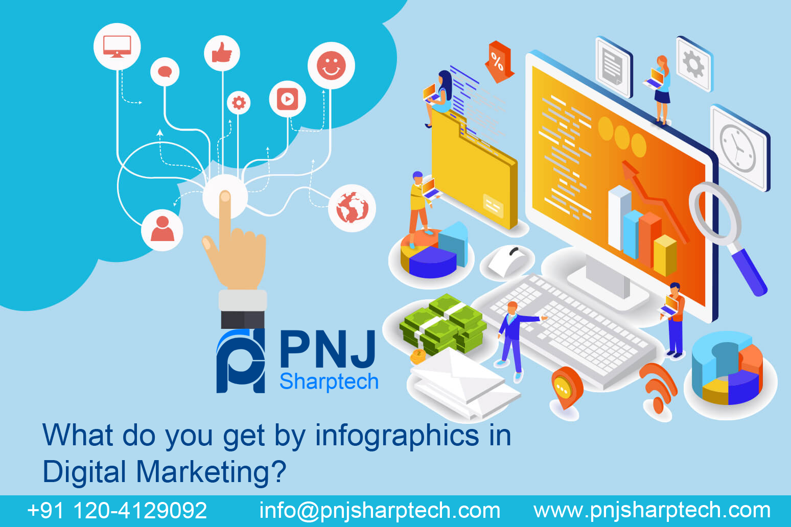 infographics in digital marketing