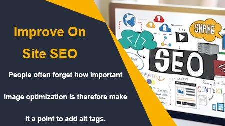 Improve On site SEO