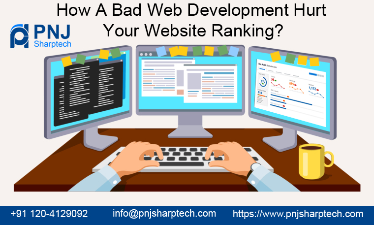 Bad Web Development Hurt Your Website Ranking