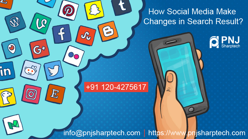 Social Media Make Changes in Search Result