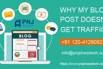 blog not getting traffic