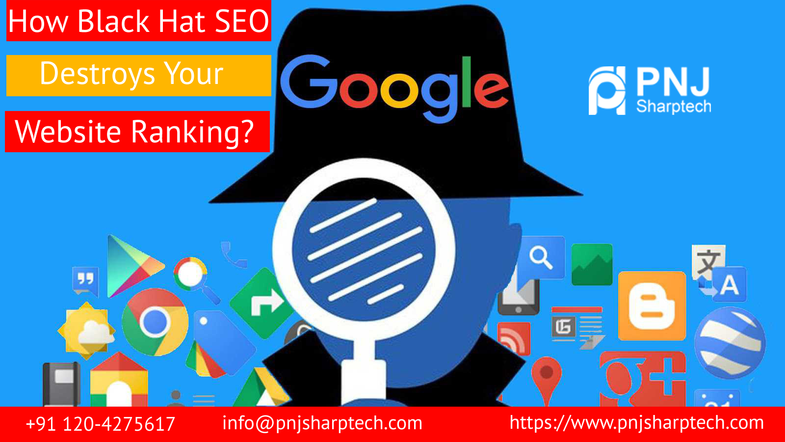 Black Hat SEO Destroys Your Website Ranking