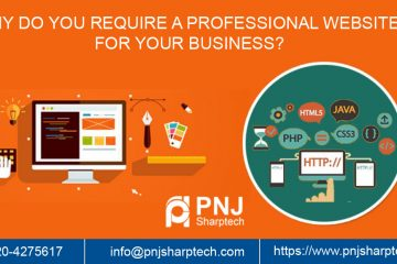 professional website for your business