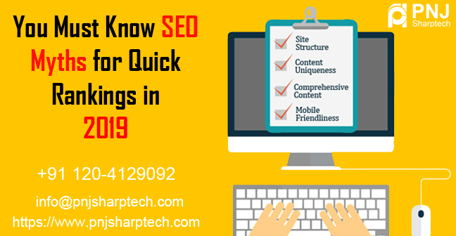 SEO Myths for Quick Rankings in 2019