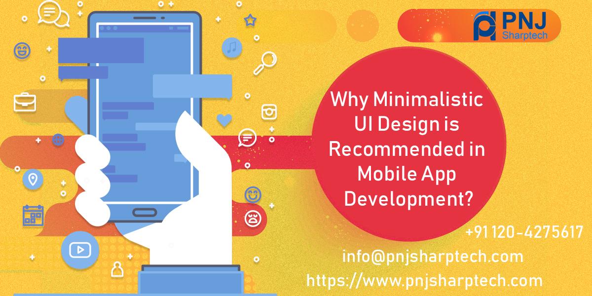 Minimalistic UI Design