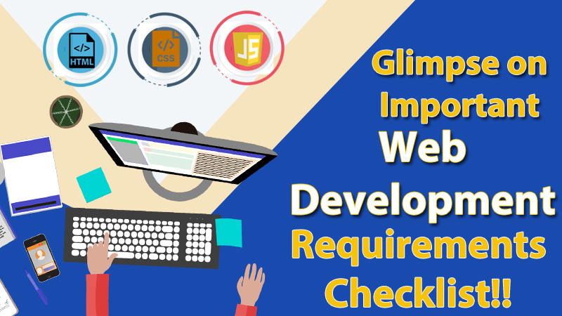Web Development Requirements Checklist