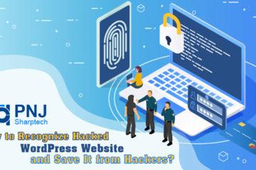 Hacked WordPress Website