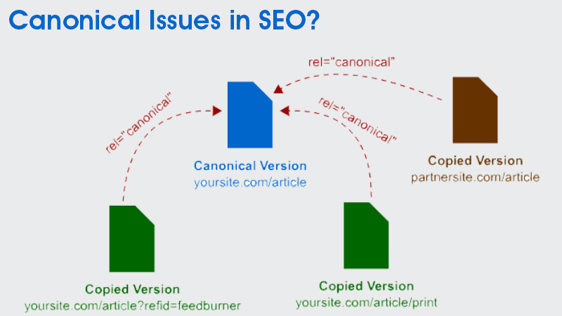 Canonical Issues in SEO