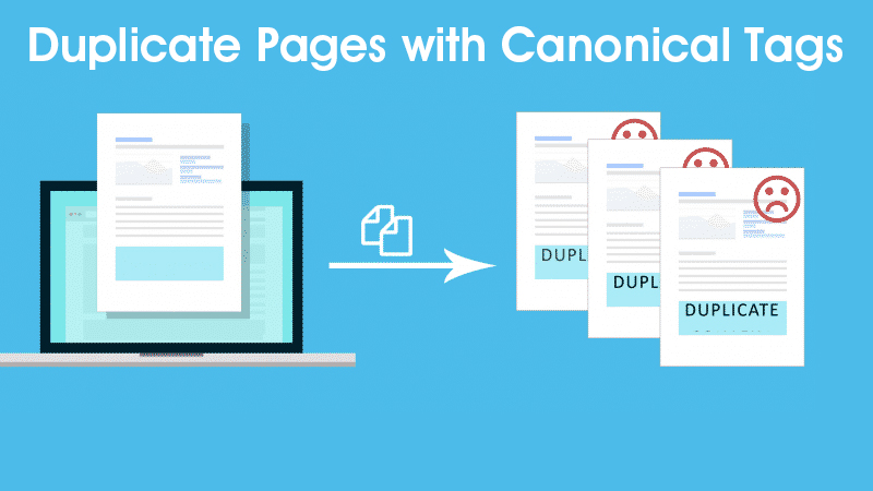 Duplicate Pages with Canonical Tags