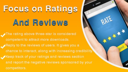 Focus on Ratings and Reviews