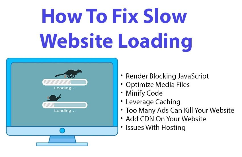 How To Fix Slow Website Loading