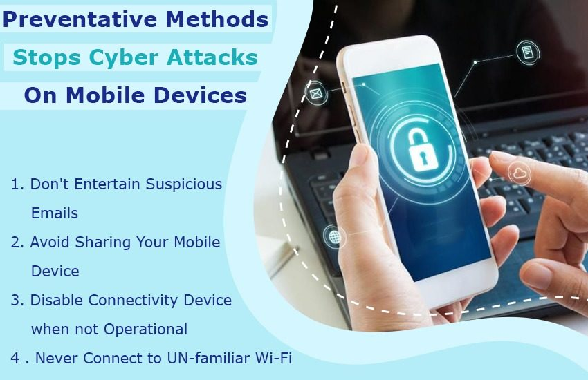 Preventative Methods Stops Cyber Attacks on Mobile Devices