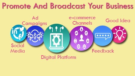 Promote and Broadcast your Business