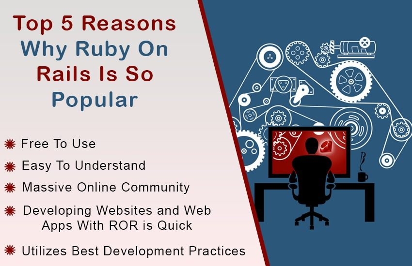 Top 5 Reasons Why Ruby On Rails Is So Popular