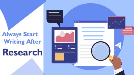 Always Start Writing After Research