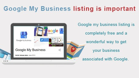 Google My Business listing is important