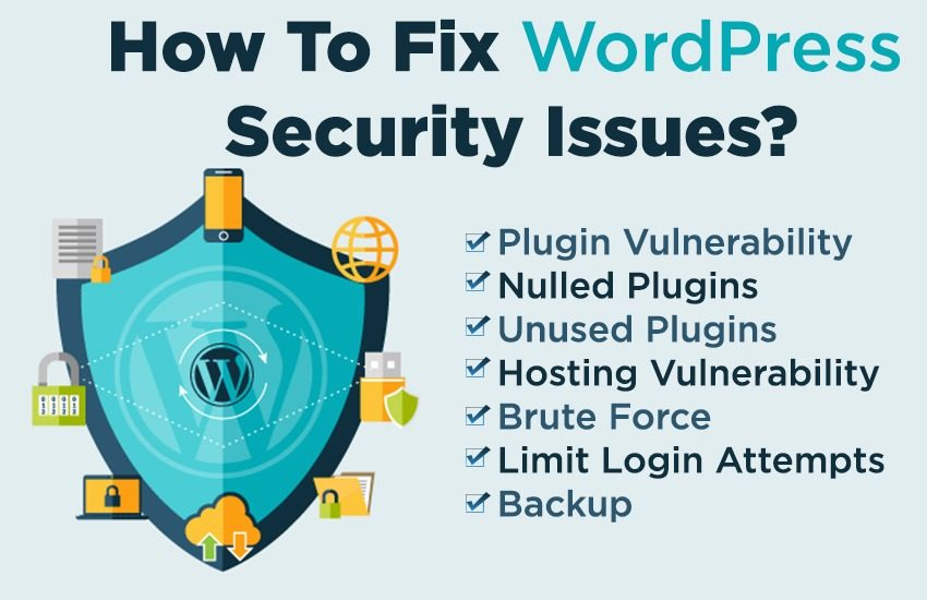 How To Fix WordPress Security Issues