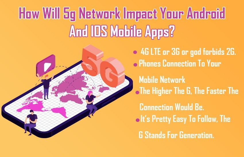 How Will 5g Network Impact Your Android And IOS Mobile Apps