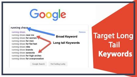 Target Long Tail Keywords