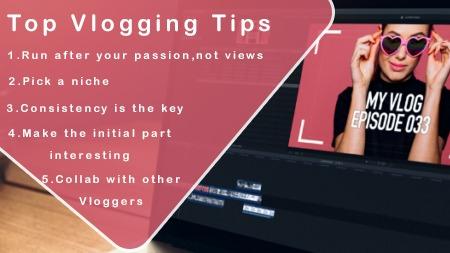 Top Vlogging tips