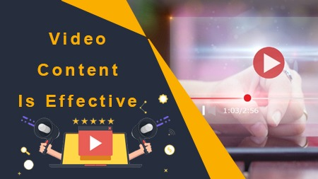 Video content is effective