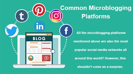 Common Microblogging Platforms