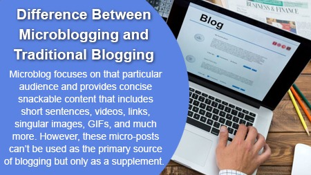 Difference Between Microblogging and Traditional Blogging