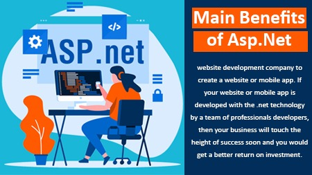 Main Benefits of Asp.Net