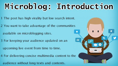 Microblog- Introduction