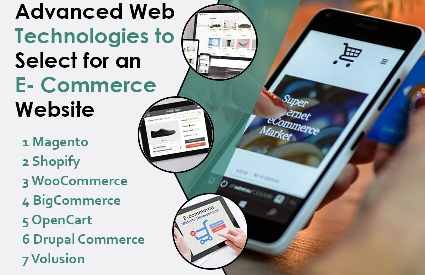 Advanced Web Technologies to Select for an E-Commerce Website