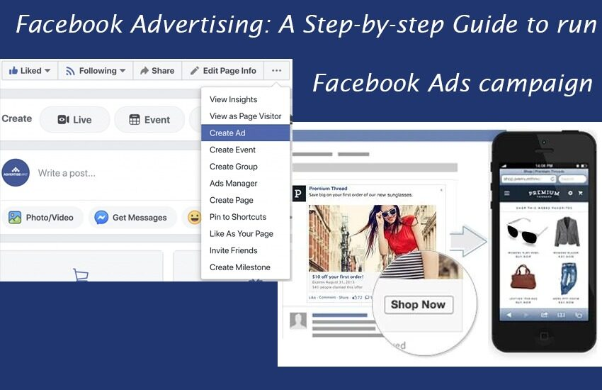 Facebook Advertising A Step-by-step Guide to run Facebook Ads campaign