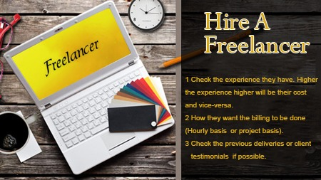 Hire a freelancer
