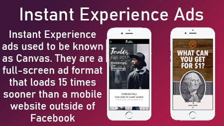 Instant Experience ads