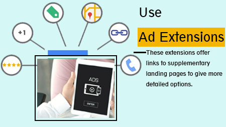 Use ad extensions
