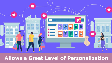 Allows a great level of personalization
