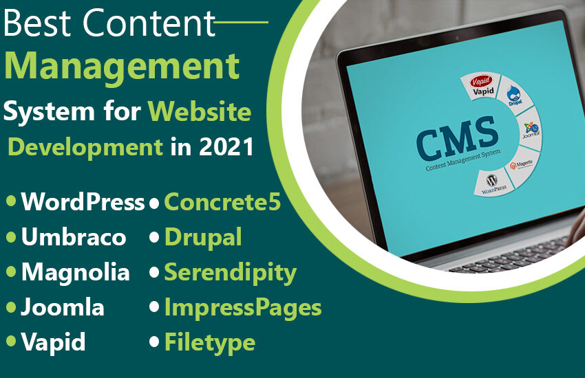 Best Content Management System for Website Development in 2021
