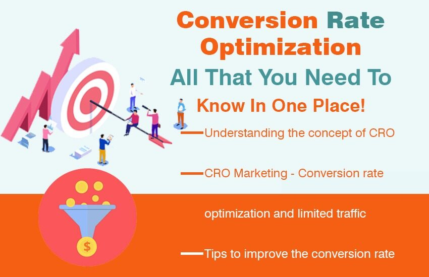 Conversion rate optimization- All that you need to know in one place!