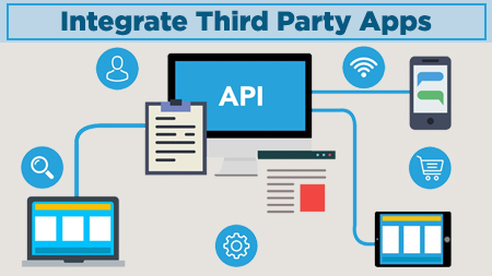 Integrate third party apps
