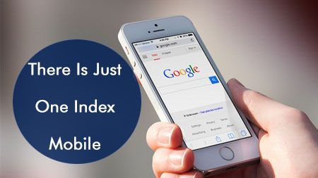 There is just one index