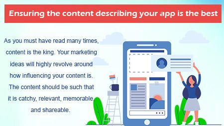 Ensuring the content describing your app is the best