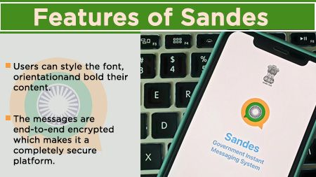 Features of Sandes App