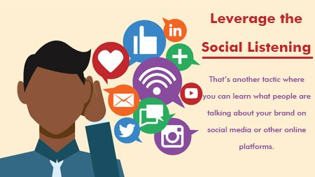 Leverage the Social Listening