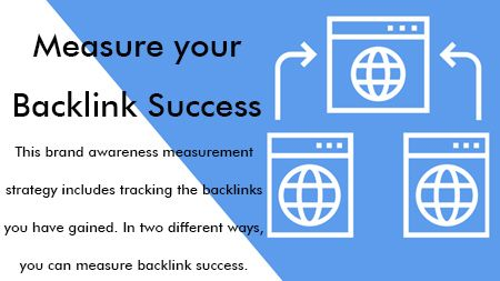 Measure your Backlink Success