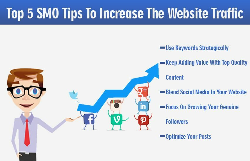 Top 5 SMO Tips To Increase The Website Traffic