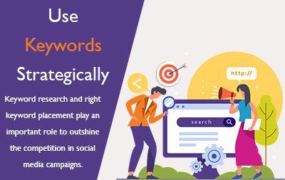 Use Keywords Strategically