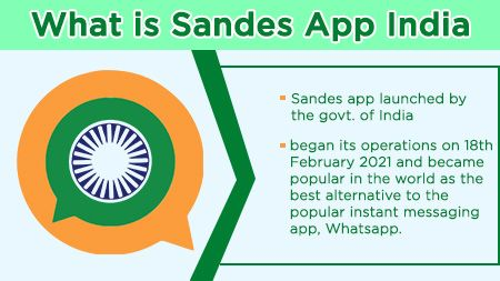 What is Sandes App India