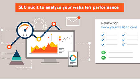 SEO audit to analyze your website's performance